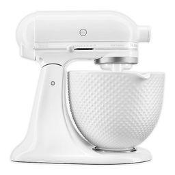 KitchenAid® Artisan® Stand Mixer with 5qt Ceramic Hobnail Bowl | Bed Bath & Beyond
