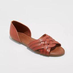 Women's Vail Woven Slide Sandals - Universal Thread™ | Target
