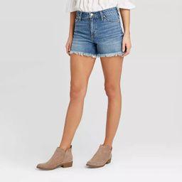 Women's High-Rise Jean Shorts - Universal Thread™ Medium Wash | Target