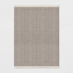 9'X12' Chevron Woven Area Rug Brown - Project 62   Target