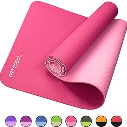 arteesol Yoga Mat, Eco-Friendly TPE Exercise Mats Non-Slip Pilates Mat with Carrying Strap for Yo...   Amazon (US)