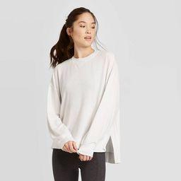 Women's Cozy Long Sleeve Sweatshirt - JoyLab™   Target