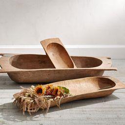 Antique Wooden Dough Bowls | Pottery Barn (US)