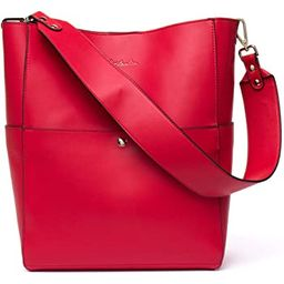 BOSTANTEN Women's Leather Designer Handbags Tote Purses Shoulder Bucket Bags   Amazon (US)