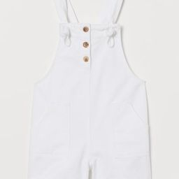 Cotton Overall Shorts | H&M (US)