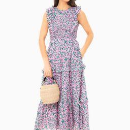 Audrey Sprig Sachet Pink Iris Dress   Tuckernuck