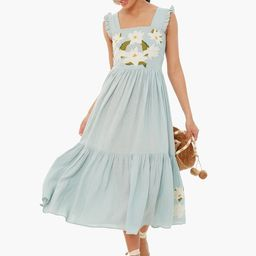 Sky Gray Kuna Dress   Tuckernuck