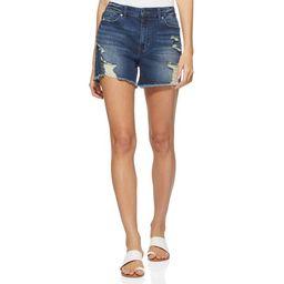 Scoop Women's Destructed Boyfriend Jean Shorts | Walmart (US)