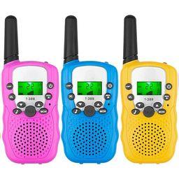 Juslike Walkie Talkies for Kids Walkie Talkies 3 Miles Long Range 22 Channels 2 Way Radio Gifts f... | Walmart (US)
