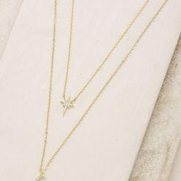 Celestial Crystal 18k Gold Plated Necklace Set | Ettika