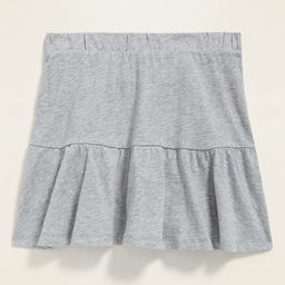 Tiered Jersey Skort for Girls | Old Navy (US)
