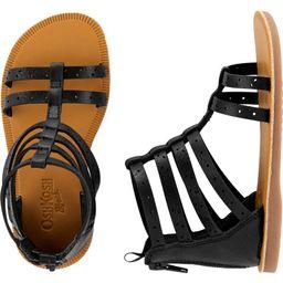 OshKosh Black Gladiator Sandals | OshKosh B'gosh