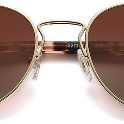 Small Retro Oval Polarized Sunglasses with Acetate Temple Amber SJ1133 | Amazon (US)