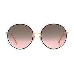 DiorSociety2F 60MM Round Sunglasses | Saks Fifth Avenue