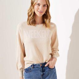 Weekend Sweater   LOFT   LOFT