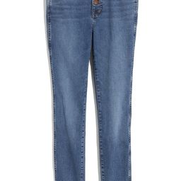 10-Inch High-Rise Skinny Jeans: Button-Front Edition | Nordstrom