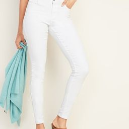 Mid-Rise Rockstar Super Skinny Jeans for Women | Old Navy (US)