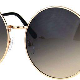 Classic Oversize Joplin Style Hippie Round Circle Lens Sunglasses | Amazon (US)