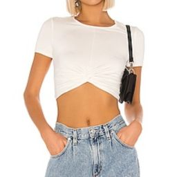 superdown Camille Twist Front Top in Ivory from Revolve.com   Revolve Clothing (Global)