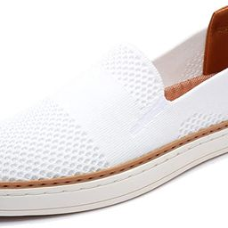 Women's Casual Shoes Slip On Sneakers - Breathable Stretch Knit Loafers with Comfortable EVA Me...   Amazon (US)