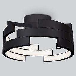 Anello LED Semi-Flushmount   by Kuzco Lighting | Lumens