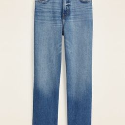 Extra High-Waisted Boyfriend Straight Jeans for Women | Old Navy (US)