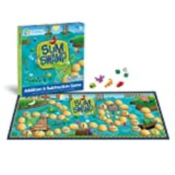 Learning Resources Sum Swamp Game, Homeschool, Addition/Subtraction, Early Math Skills, 8 Pieces, Ag | Amazon (US)