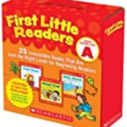 First Little Readers Parent Pack: Guided Reading Level A: 25 Irresistible Books That Are Just the Ri | Amazon (US)