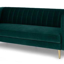 Amicie Sofa Bed, Seafoam Blue Velvet | MADE.com | MADE.COM (UK)