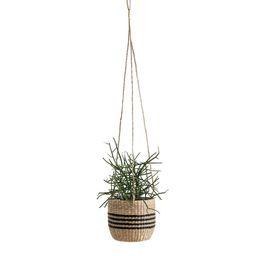 Mila Woven Grass Hanging Planter | La Redoute (UK)
