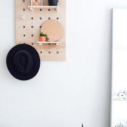 "Pegboard Display | 18""x24"" | Wood Wall Organizer | Etsy (US)"