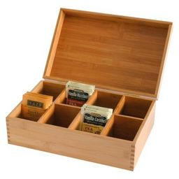 Lipper International Bamboo Tea Box | Target
