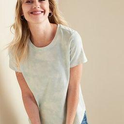 EveryWear Dip-Dye Short-Sleeve Tee for Women | Old Navy (US)
