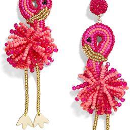 Statement Beaded Drop Earrings for Women - Fashion Cute Flamingos Dangle Earrings for Girls Jewel... | Amazon (US)