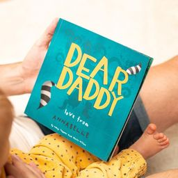 Personalised Dear Daddy Book | Father's Day Gifts | Birthday Gift for Dad | Gifts for Dad | Gifts... | Etsy (US)