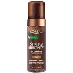 L'Oreal Paris Sublime Bronze Hydrating Self-Tanning Water Mousse, 5 fl. oz. | Walmart (US)