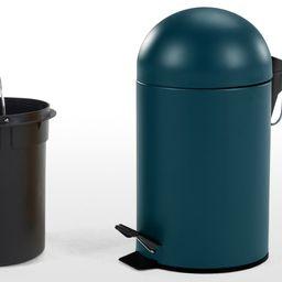 Joss Pedal Bin 3L, Blue | MADE.COM (UK)