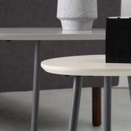 Nyla Nesting Tables, Tonal Grey | MADE.COM (UK)