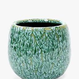 Serax Seagrass Pot, Sea Green, Medium | John Lewis UK