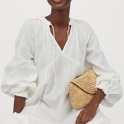 Cotton kaftan dress   H&M (UK, IE, MY, IN, SG, PH, TW, HK)