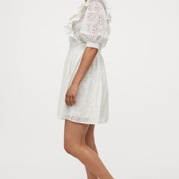Broderie anglaise dress   H&M (UK, IE, MY, IN, SG, PH, TW, HK)
