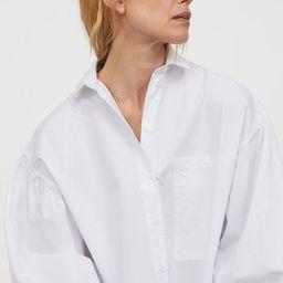 Cotton shirt dress   H&M (UK, IE, MY, IN, SG, PH, TW, HK)