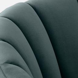 Primrose Accent Armchair, Marine Green Velvet | MADE.COM (UK)