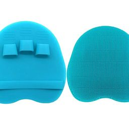 Pure Silicone Food-grade Body Brush Shower Cleansing Scrubber Gentle Exfoliating Glove Soft Brist... | Amazon (US)