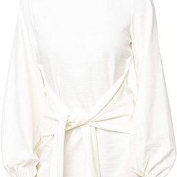 R.Vivimos Women's Autumn Winter Cotton Long Sleeves Elegant Knitted Bodycon Tie Waist Sweater Pen... | Amazon (US)