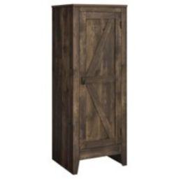 SystemBuild Farmington Storage Cabinet, Rustic   Walmart (US)
