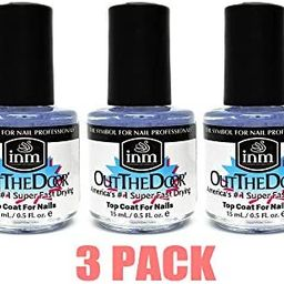 INM Out the Door top coat (Pack of 3)  0.5 ounce | Amazon (US)