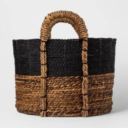 Block Basket Black - Threshold™   Target