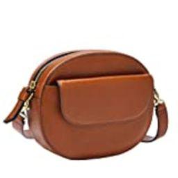 Fossil Women's Serena Leather Belt Bag Handbag, Brown   Amazon (US)