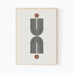 Modern Minimalist, Scandinavian Modern, Geometric Design, Digital Instant Modern Wall Art | Etsy (US)
